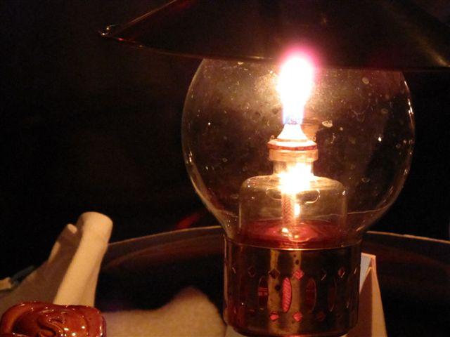 灯火の中で・・・