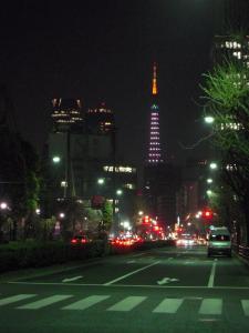 青の東京タワー