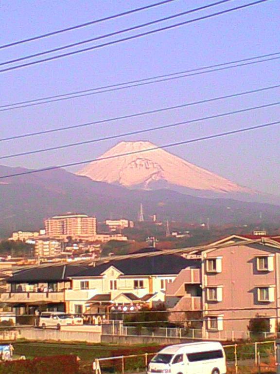 職場からの富士