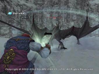 過去ザルカの龍NMと戦闘3