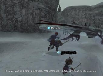 過去ザルカの龍NMと戦闘4