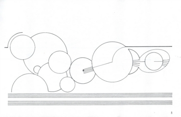 Treatise Page 3 by Cornelius Cardew