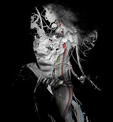 Experimental Portrait by Alberto Seveso