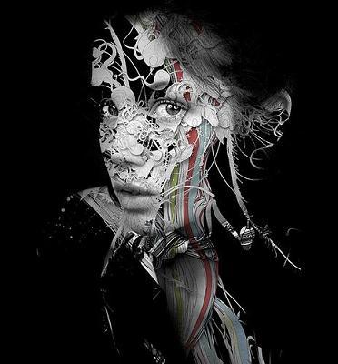 Experimental Portrait by Alberto Seveso