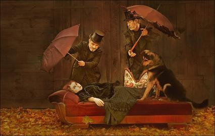 Gruppenbild mit Dame by Anke Merzbach