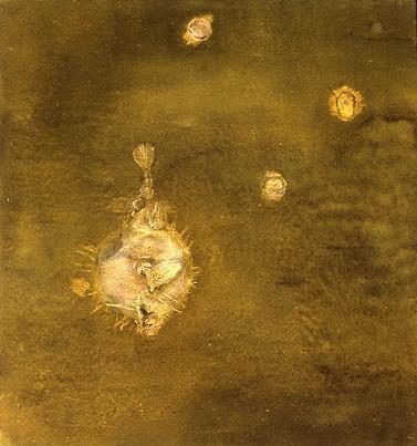 Blowfish #1 by Brenda Zlamany