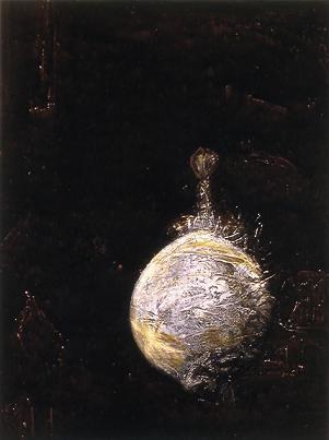 Blowfish #18 (after Paul Klee) by Brenda Zlamany