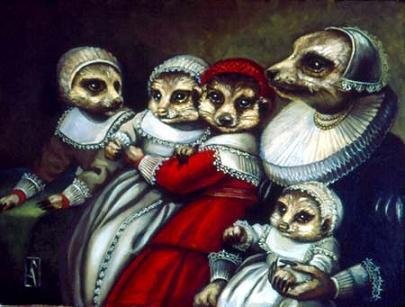 Family Van der Meer by Carrie Ann Baade