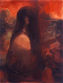 Mona by Dana Schutz