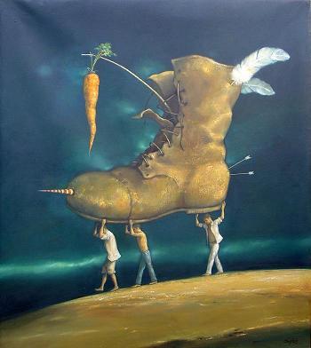 Con la aspiracion a cuestas by David Rodriguez
