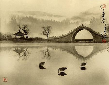 Three Friends, Beijing, 1989 by Don Hong-Oai