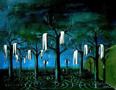 Die weinenden Baume by Edgar Ende