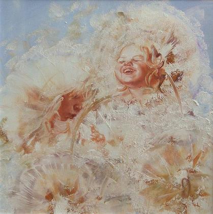 Dandelions by Elena Kapustina