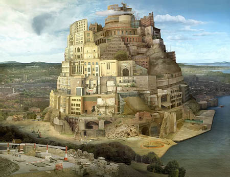 Tower of London (after Breugel) by Emily Allchurch