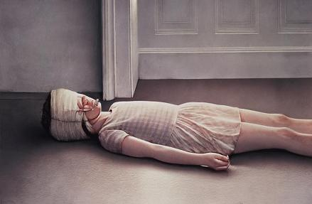 Beautiful Victim I by Gottfried Helnwein