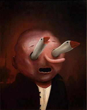 Geese by Heiko Muller