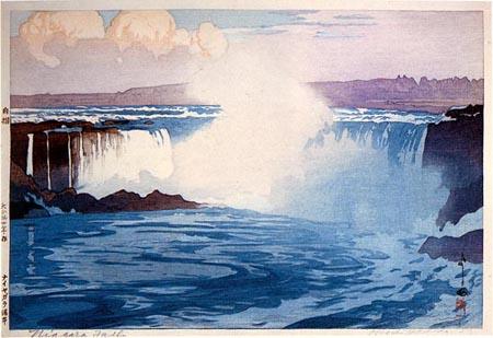 Niagara Falls by Hiroshi Yoshida