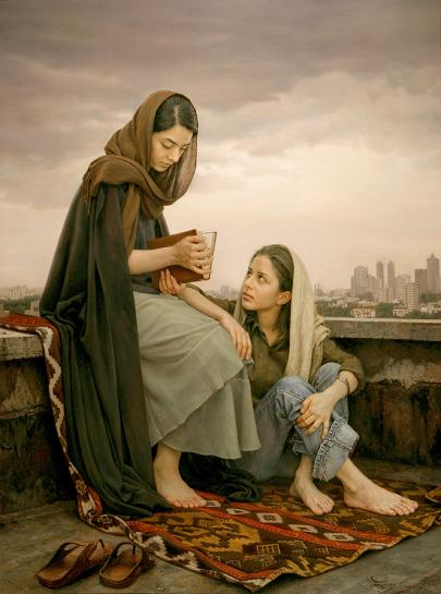 Omens of Hafez by Iman Maleki