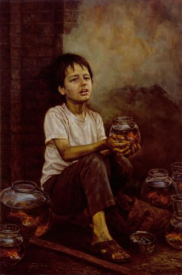 Fishmonger by Iman Maleki