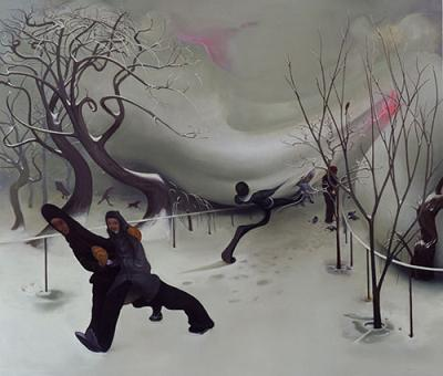 Snow by Inka Essenhigh