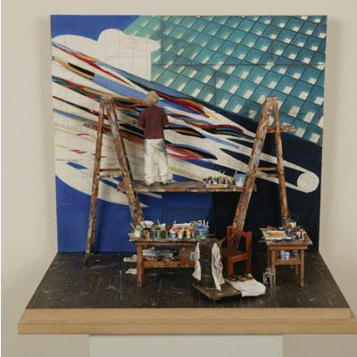 Jim Rosenquist 1980 by Joe Fig