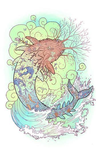 fishgod by Joy Ang