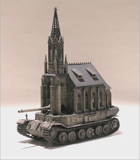 Church Tank Type I by Kris Kuksi
