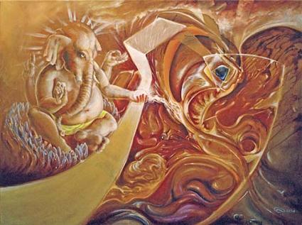 Ganesha by Leo Plaw