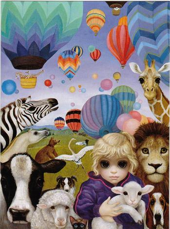 Who Says Animals by Margaret Keane