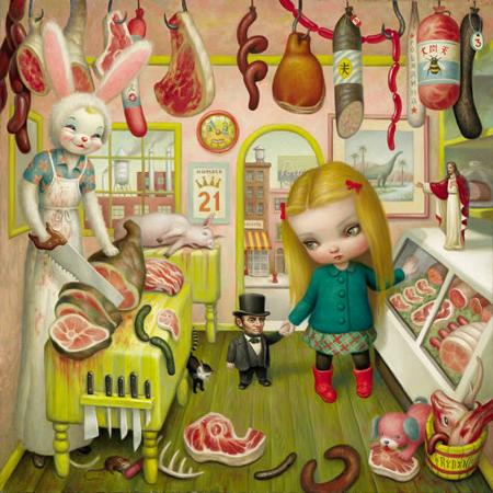 The Butcher Bunny by Mark Ryden