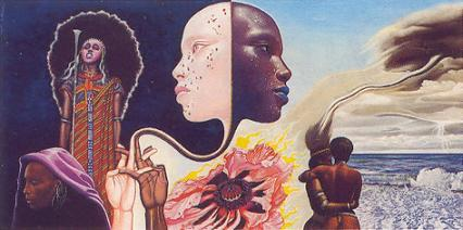 Bitches Brew by Mati Klarwein