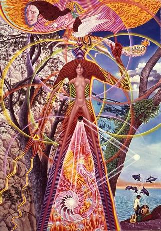 Astral Body Awake by Mati Klarwein