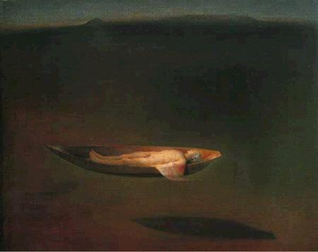 Man in Boat by Odd Nerdrum