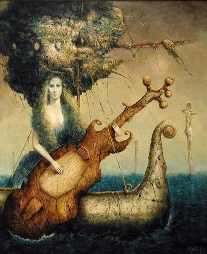 Vabenie meduzy (Allure of the medusa) by Peter Marcek