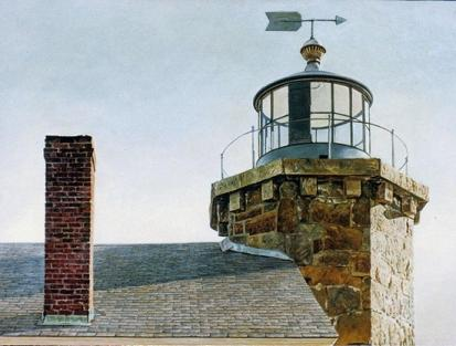 Stonington Light by Robert McMahon