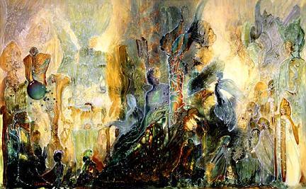 Ayahuasca Dream by Robert Venosa