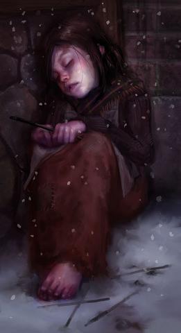The Little Match Girl by Steve James