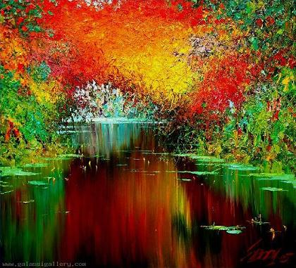The Lake I by Taras Loboda