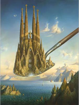 Measure of Greatness by Vladimir Kush