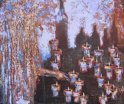 Осенний натюрморт (Autumnal still life) by Vladimir Ryabchikov