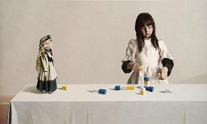 Sarah and Her toys 2007 by Zai Kuang