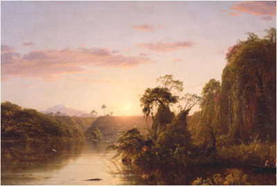 Scene on the Magdalene by Frederic Edwin Church