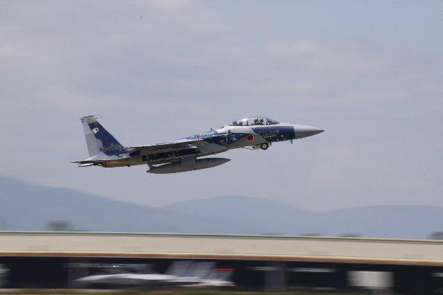 カラフルF15離陸スピート