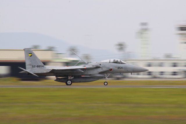 F15着陸スピード