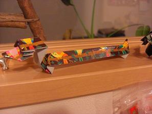 折り紙ダックス1