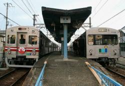 名越駅にて(2006.12.16)