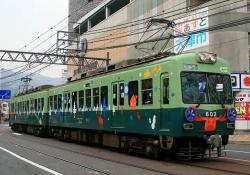 三井寺~浜大津間にて(2006.12.16)
