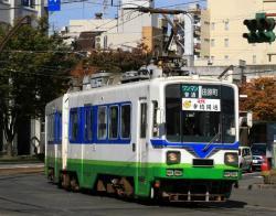 市役所前~福井駅前間(2007.10.31)