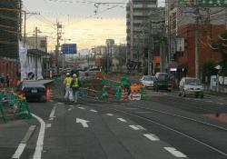山ノ内~蚕ノ社間(2008.1.26)