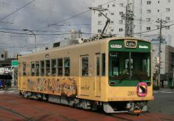 西大路三条~西院間(2008.1.26)